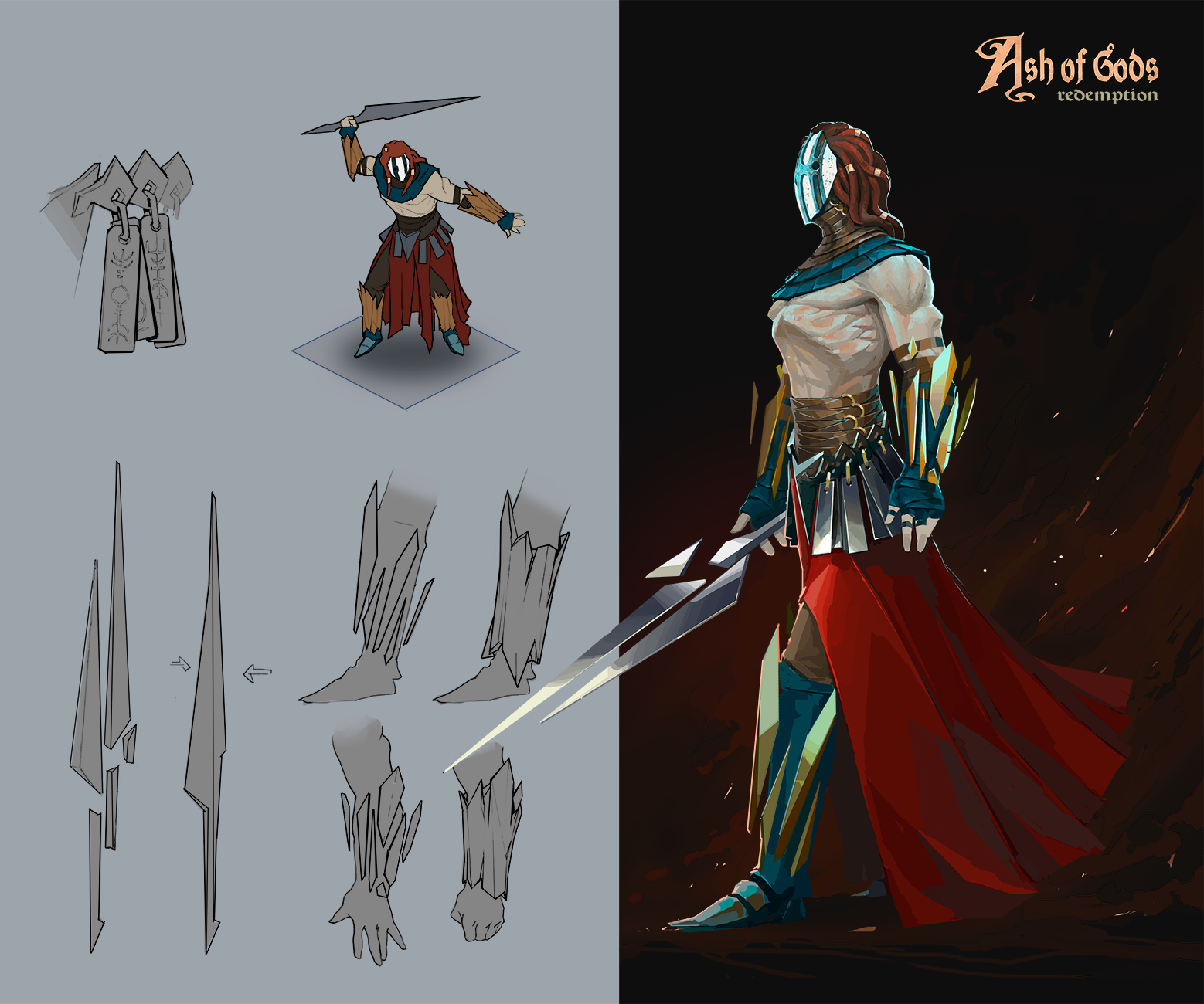 Ash of Gods - Concept Art