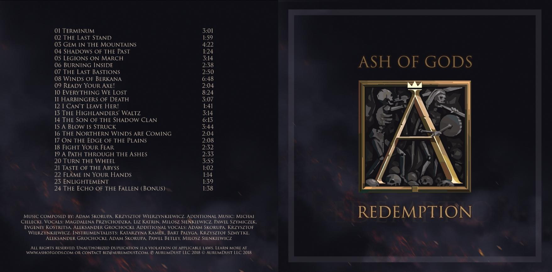 Ash oа Gods OST cover